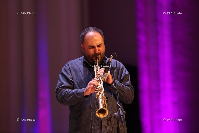 Jivan Gasparyan Jr and The Russian String Ensemble concert in Yerevan