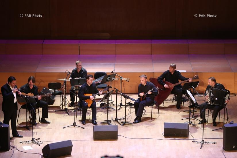 Ջիվան Գասպարյան կրտսերի ու The Russian String Enssemble-ի համերգը Երևանում
