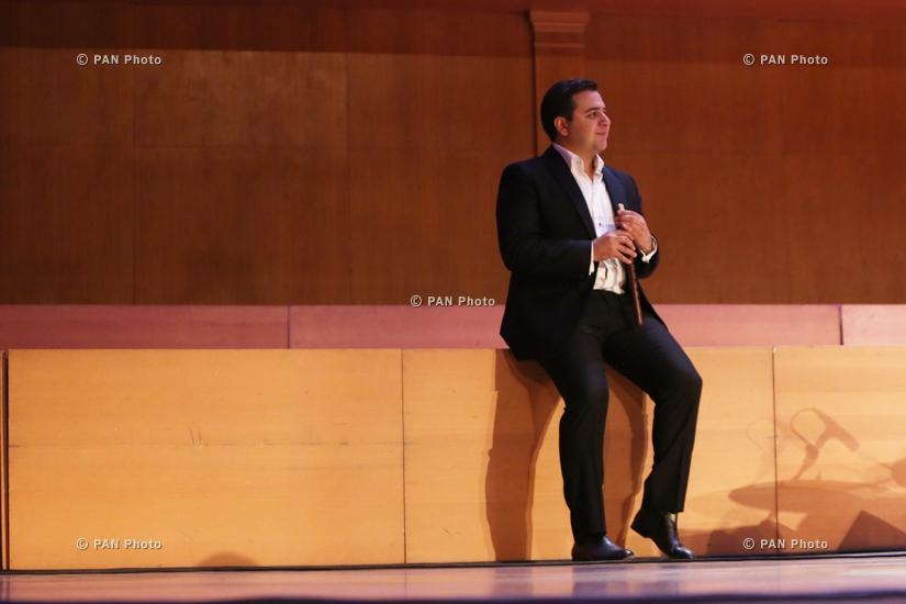 Концерт Дживана Гаспаряна младшего и ансамбля «Русские струны» в Ереване