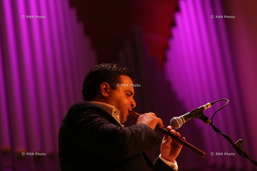 Jivan Gasparyan Jr and The Russian String Ensemble concert in Yerevan