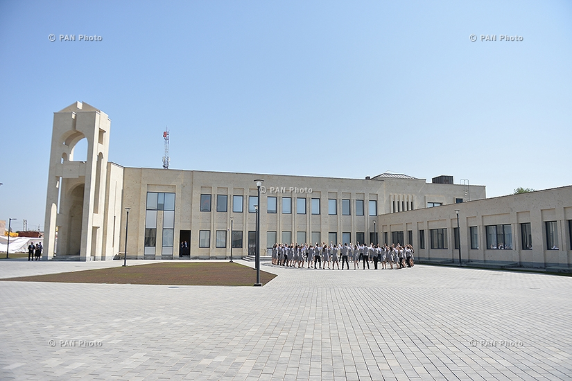 Opening of new building of Eurnekian General Education Institution in Ejmiatsin