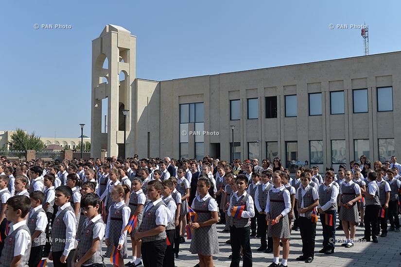 Открытие нового корпуса «Общеобразовательной школы Эрнекян» в городе Эчмиаздин