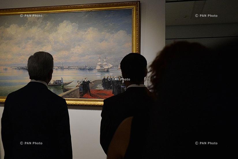 Президент Армении Серж Саргсян посетил выставку, посвященную 200-летию Ованнеса Айвазовского