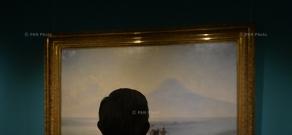 Նախագահ Սերժ Սարգսյանն այցելել է Հովհաննես Այվազովսկու ծննդյան 200-ամյակին նվիրված ցուցահանդես