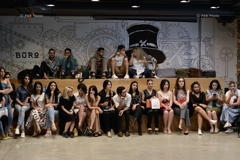 Fashion reception of Oriflame Fashion Weekend 2017