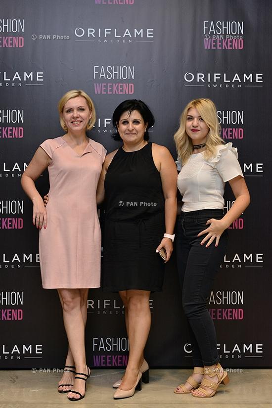 Фейшн-прием в рамках Oriflame Fashion Weekend 2017
