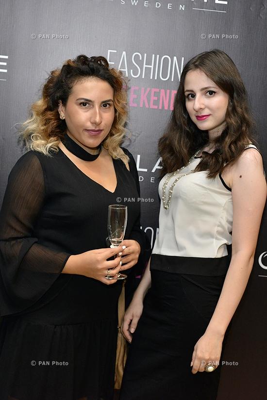 Fashion reception of Oriflame Fashion Weekend 2017