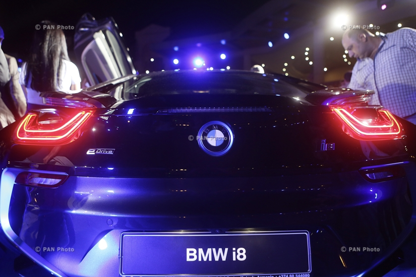 BMW i8 hybrid sports car launched in Armenia