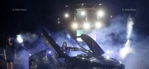 BMW i8 հիբրիդային շարժիչով մեքենայի շնորհանդեսը Հայաստանում