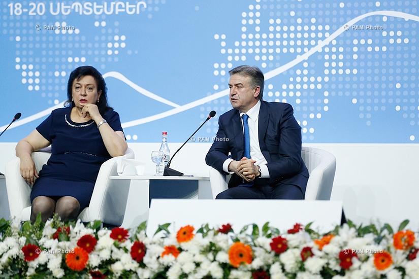 Հայաստան-սփյուռք համահայկական 6-րդ համաժողով. Օր 2