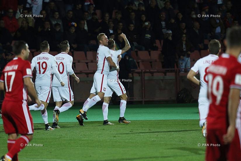 Матч отборочного этапа чемпионата мира 2018 года между командами Армении и Польши