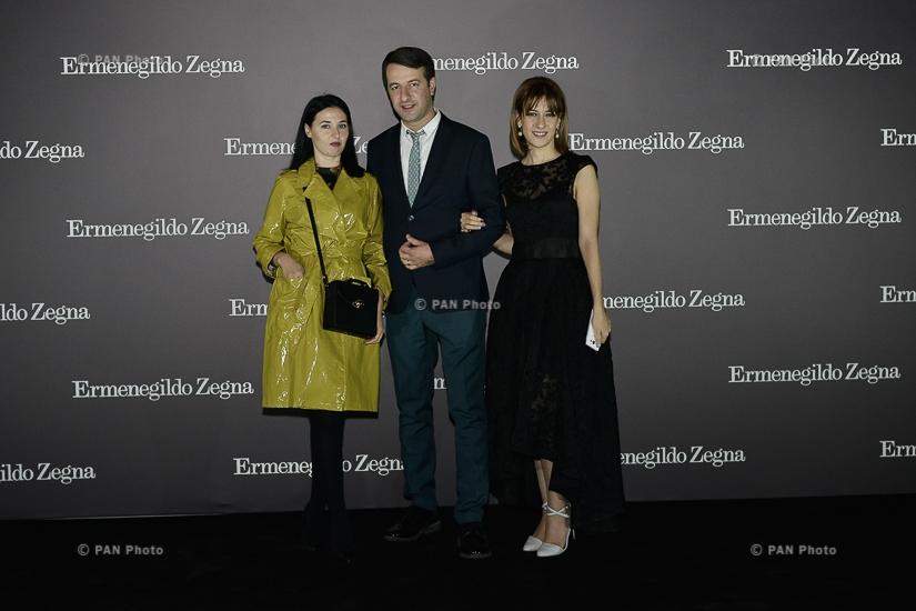 Бренд Ermenegildo Zegna отметил 11-летие своей деятельности в Армении
