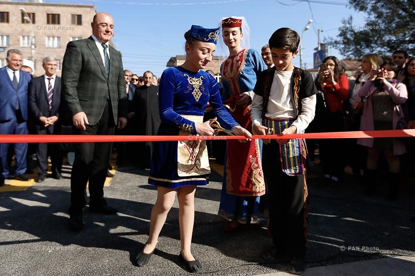 Վարչապետ Կարեն Կարապետյանը Գյումրիում մասնակցել է հիմնանորոգված Ռուսթավելի փողոցի բացմանը