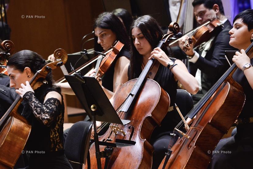 Премьера написанной Сержем Танкяном симфонии «Орка» в исполнении Молодежного оркестра Армении