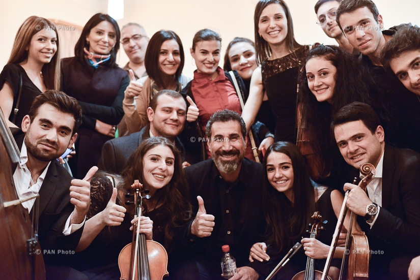 Orca symphony by Serj Tankian debuts in Armenia with SYOA performance