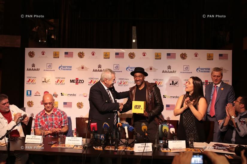 Ջազ երաժիշտ, «Գրեմմի» կրկնակի մրցանակակիր Մարկուս Միլերի մամուլի ասուլիսը