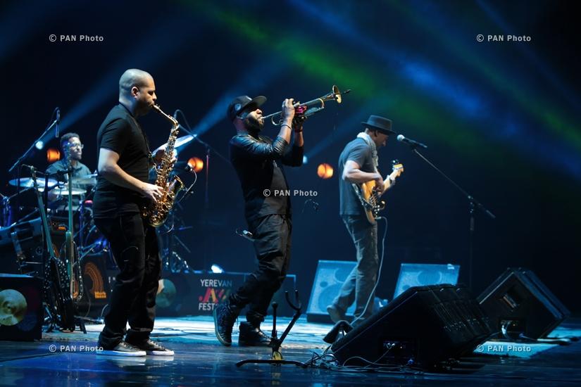 Концерт джазового музыканта, двукратного обладателя премии «Грэмми» Маркуса Миллера в Ереване