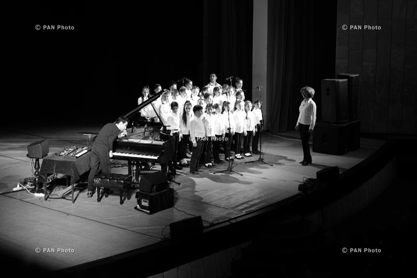Concert of musician Tigran Hamasyan in Gyumri