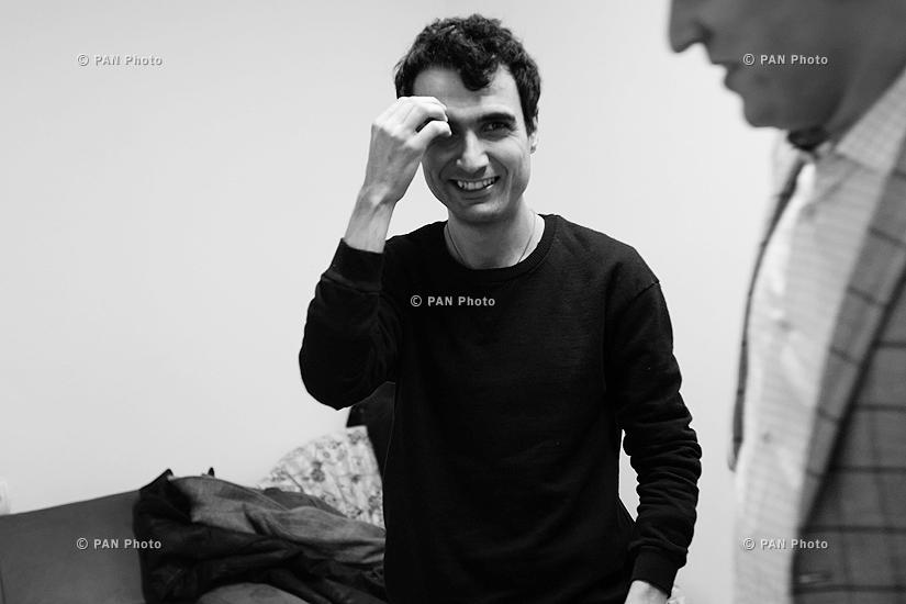 Երաժիշտ Տիգրան Համասյանի համերգը Գյումրիում