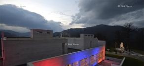 Церемония открытия нового учебного центра им. Монте Мелконяна