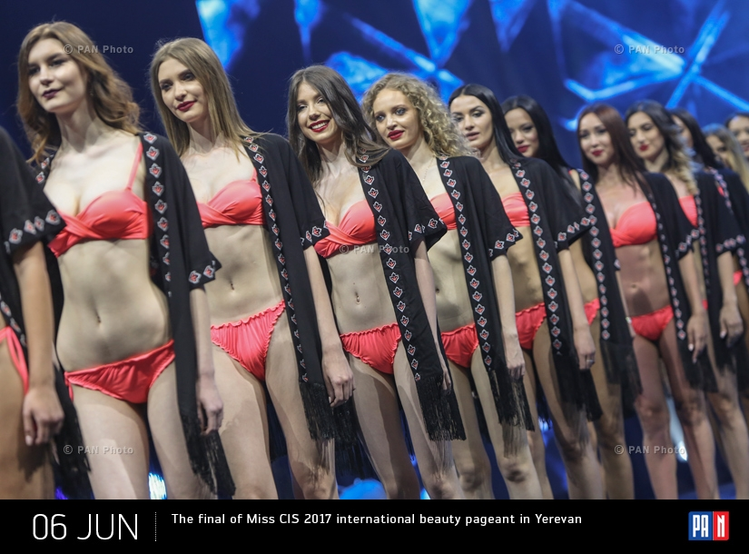 The final of Miss CIS 2017 international beauty pageant in Yerevan