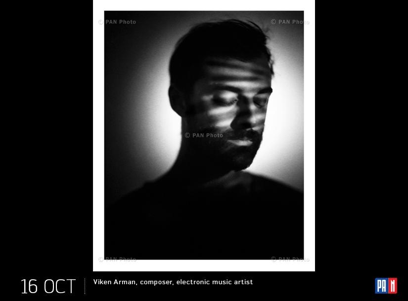 Viken Arman, composer, electronic music artist