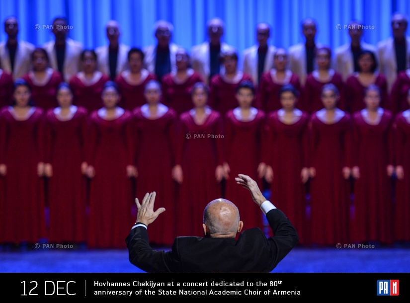 Concert dedicated to the 80th anniversary of the State National Academic Choir of Armenia