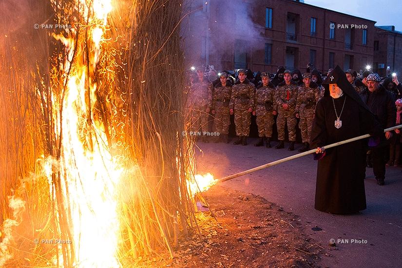Tiarn'ndaraj (Trndez) celebrations in Etchmiadzin