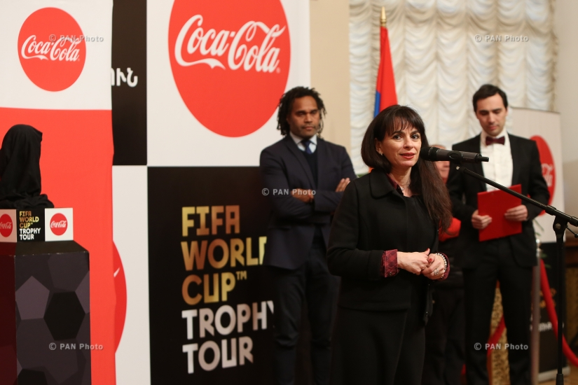 FIFA World Cup™ Trophy Tour by Coca-Cola in Yerevan