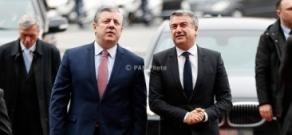 Վրաստանի վարչապետ Գիորգի Կվիրիկաշվիլիի պաշտոնական այցը Հայաստան