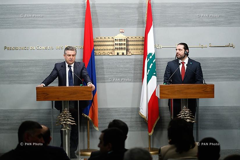 Karen Karapetyan, Saad Hariri