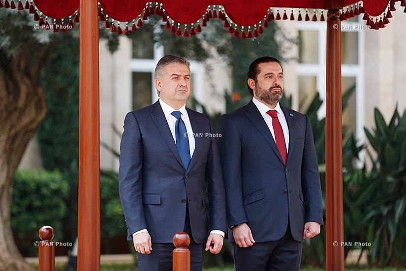 Կարեն Կարապետյան, Սաադ Հարիրի