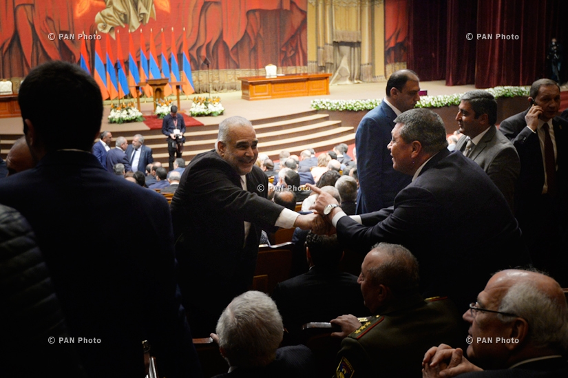 Inauguration Ceremony of newly elected Armenian President Armen Sarkissian