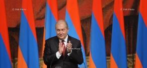 ՀՀ նորընտիր նախագահ Արմեն Սարգսյանի երդմնակալության արարողությունը