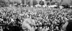 Акция протеста против премьерства Сержа Саргсяна на Площади Свободы в Ереване: День 1