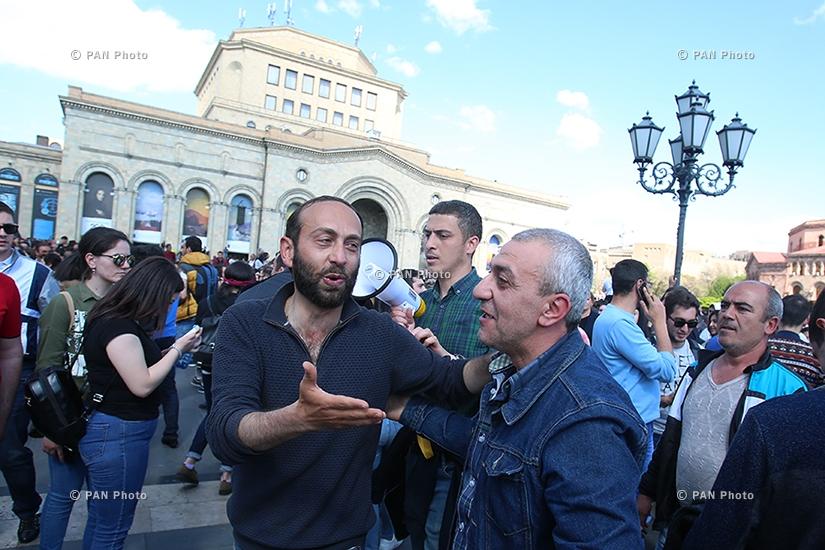 Երևանը՝ վարչապետ Սերժ Սարգսյանի հրաժարականից հետո