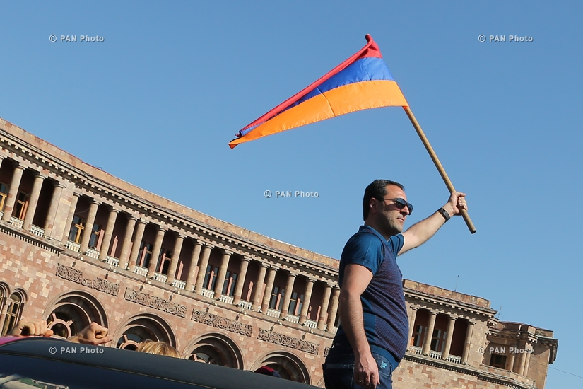 Disobedience campaign demanding the resignation of the ruling Republican Party of Armenia
