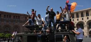Акции неповиновения в Ереване с требованием отставки Республиканской партии Армении