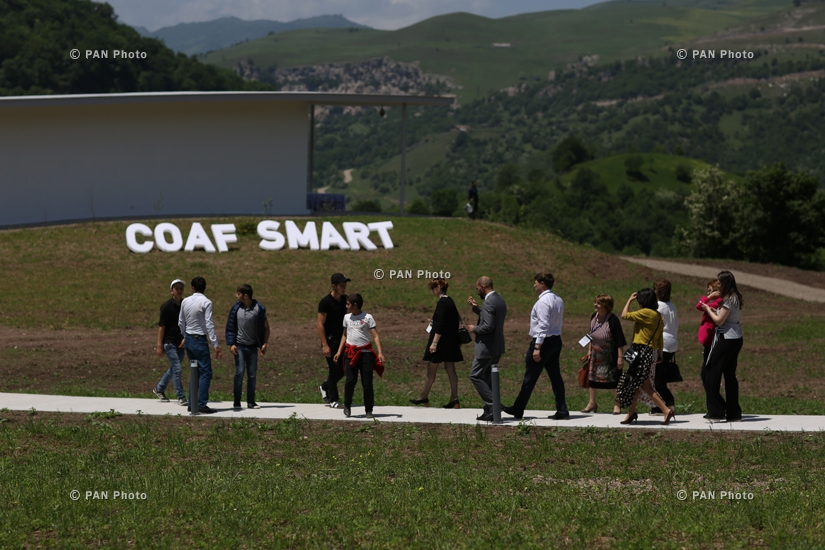SMART educational center opens in Debet community of Lori province