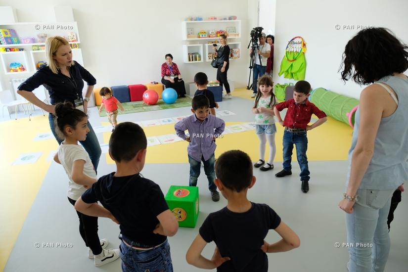 Открытие образовательного центра «СМАРТ» в селе Дебет Лорийской области Армении
