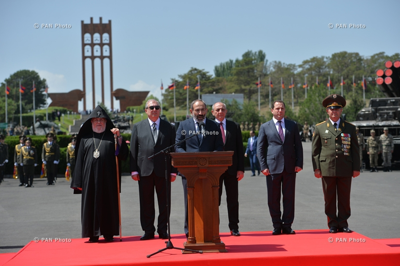 Events in Sardarapat celebrating the 100th anniversary of the establishment of the First Republic of Armenia
