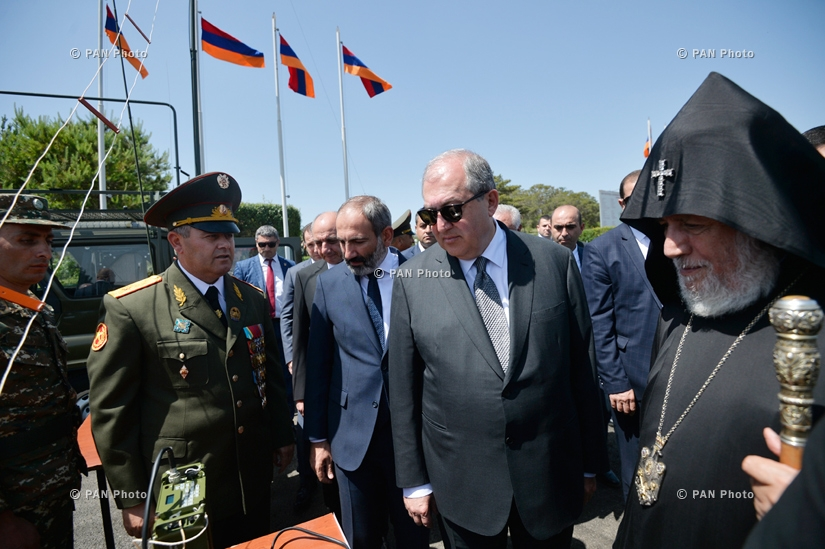 Праздничные мероприятия по случаю 100-летия становления Первой Республики Армения в Сардарапате