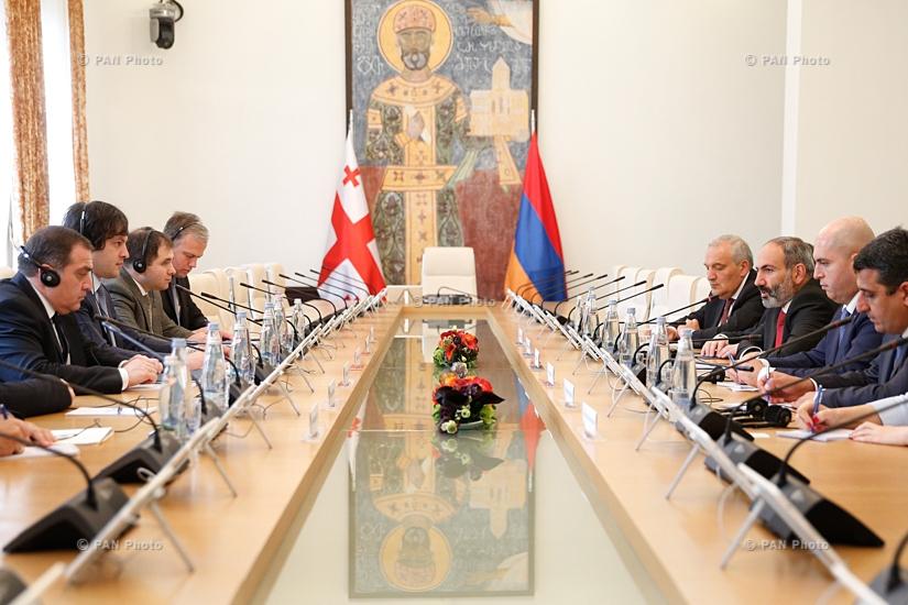 Վարչապետ Նիկոլ Փաշինյանի գլխավորած կառավարական պատվիրակության այցը Վրաստան
