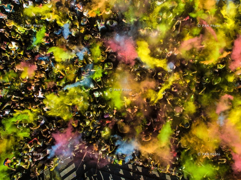 Yerevan Color Run 2015, Armenia