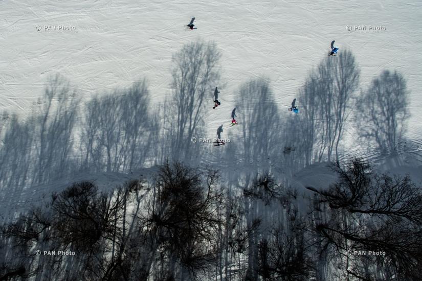 Tsaghkadzor ski resort, Gegharkunik Province, Armenia