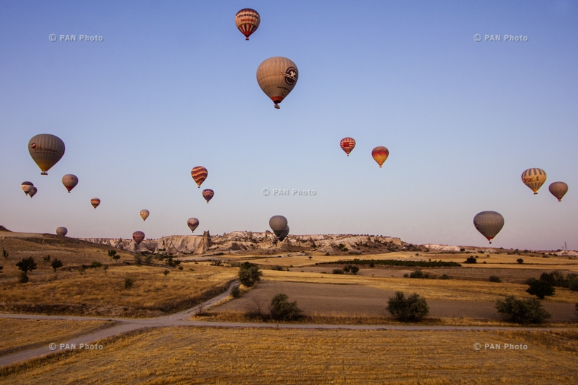 Air baloon flights in Cappadocia, Turkey