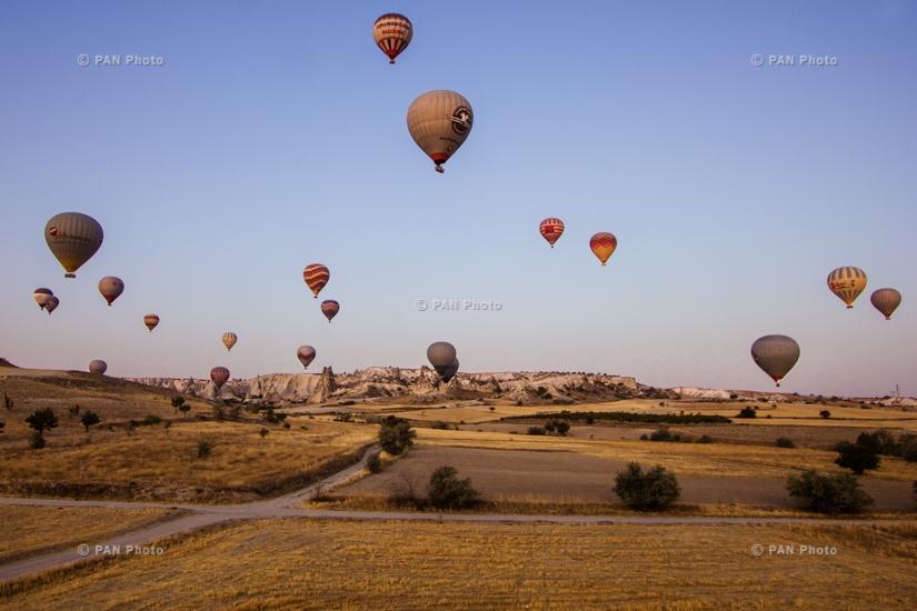 Полеты воздушных шаров в Каппадокии, Турция