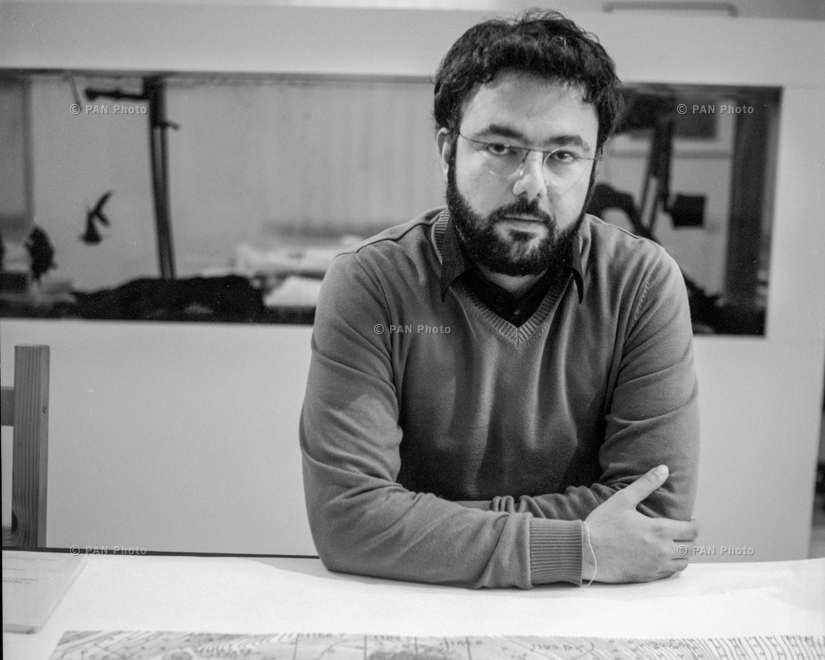 Meroujan Minassian, Tehran, Iran, architect. In order to prevent their son from joining the army in Iran, Meroujan's parents sent him to their historic homeland - Armenia. It wasn't long before he met like-minded partners and founded Storaket Architectura