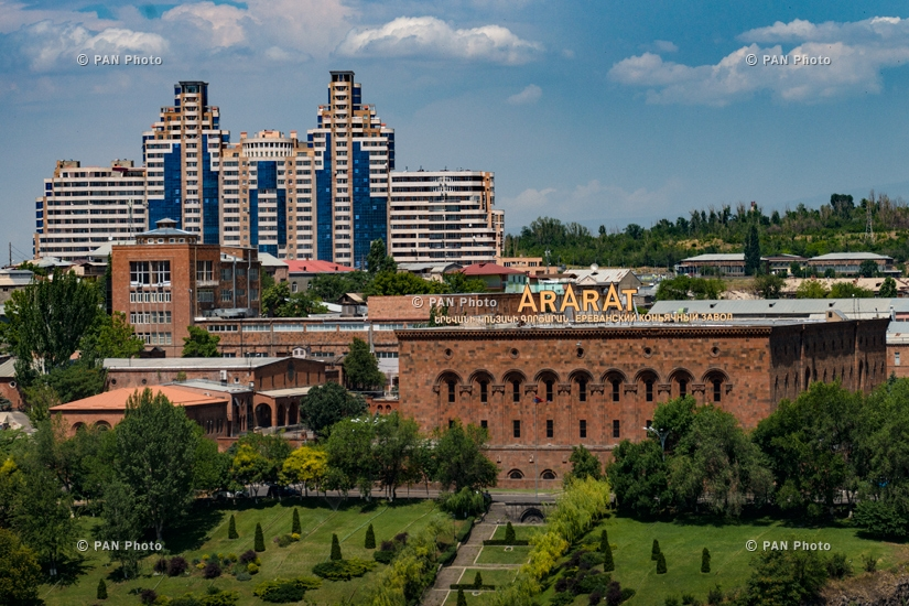 Yerevan Stories: Yerevan from the Roof
