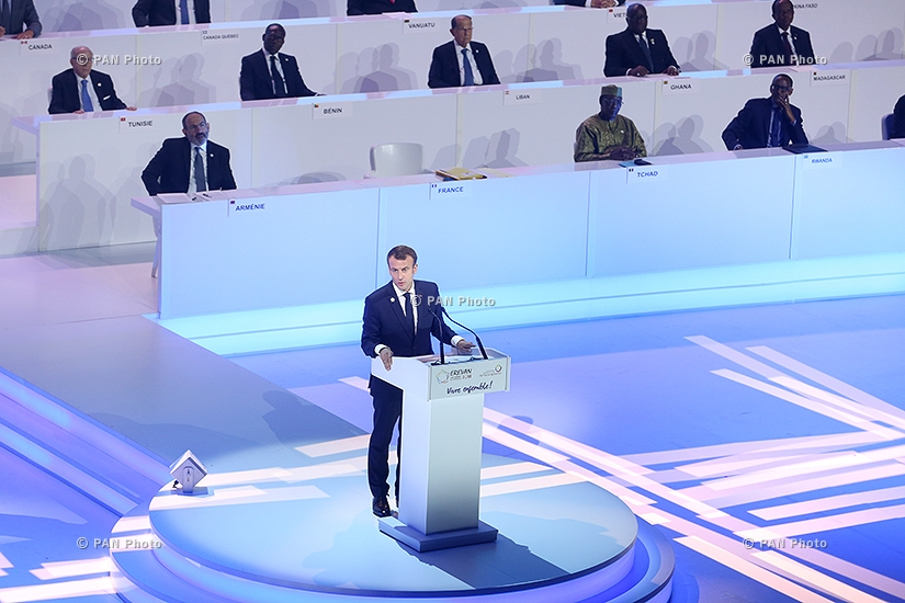 Opening of the 17th Summit of the International Organisation of La Francophonie in Yerevan